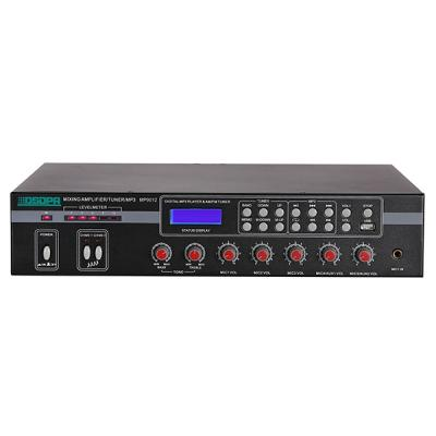 MP9012 5 Mic & 2 AUX Mixer Amplifier with USB & FM