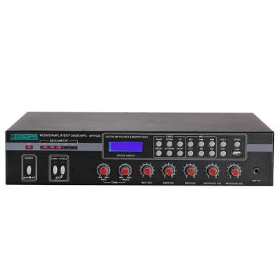 MP9025 5 Mic & 2 AUX Mixer Amplifier with USB & FM