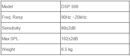 DSP506 Wall mount speaker