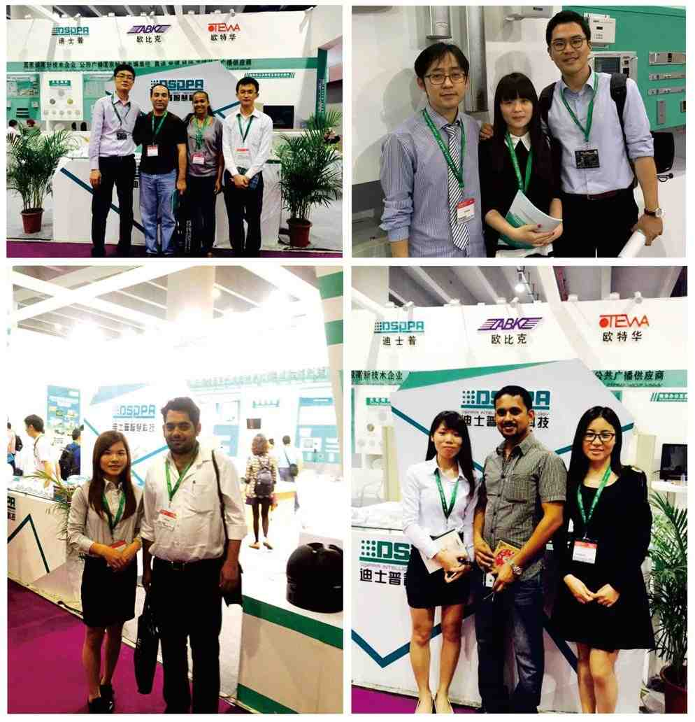 Visitors in DSPPA Booth