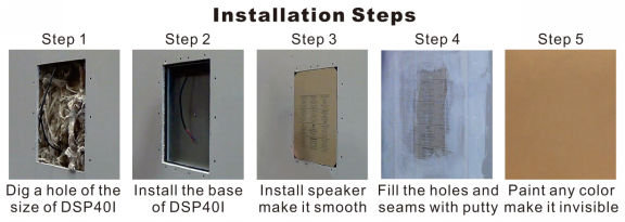installation step