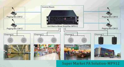 Supermarket PA Solution-MP912