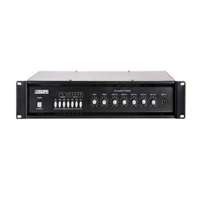 MP2016IV 6 Zones Mixer Amplifier with 2 Mic&3 Line Inputs