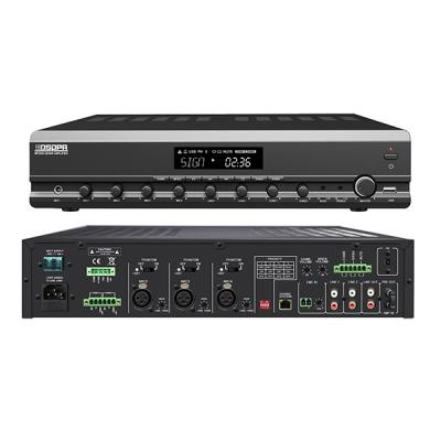 MP300U 2 Zones Integrated Mixer Amplifier with Remote Paging