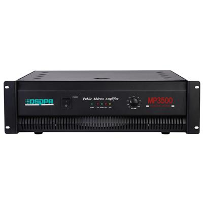 MP3500 1500W Power Amplifier