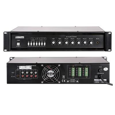 MP2012IV 6 Zones Mixer Amplifier with 2 Mic&3 Line Inputs