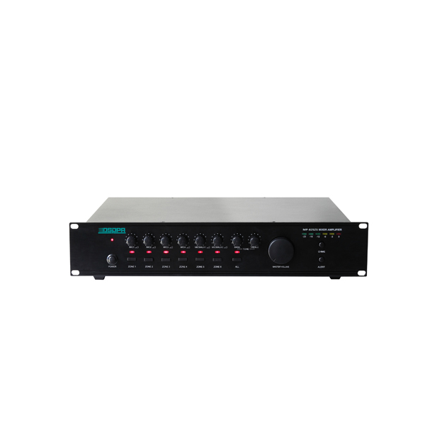 MP825ZS 250W 6 Zones Mixer Amplifier