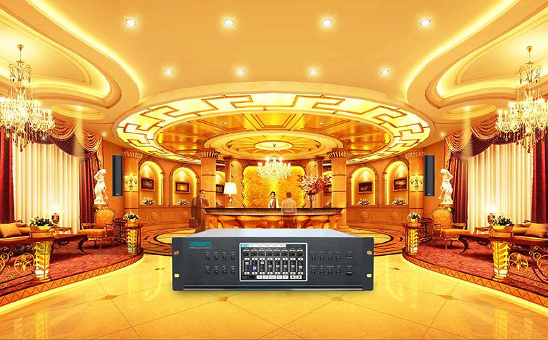 MAG808 Digital Audio Matrix System for Hotel