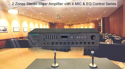 MK6920 2×120W professional stereo mixer amplifier