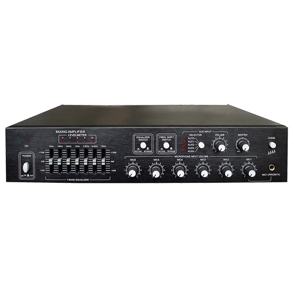 MP6906/MP6912/MP6925/MP6935 6 Mic Conference Mixing Amplifier