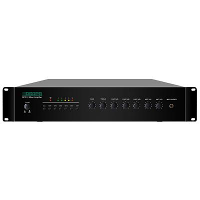 MP212 6 Zones Mixer Amplifier with 2 Mic & 3 Line Inputs