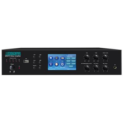 MP2715 6 Zones Mixer Amplifier with SD/USB/Tuner/Bluetooth/Timer