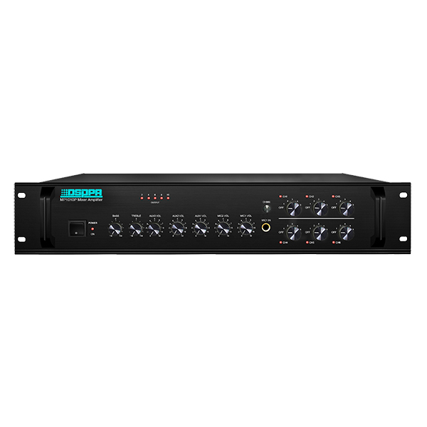 MP1010P    350W 100V 6 Zones Mixing Amplifier