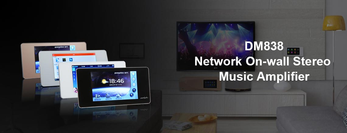Network Music Amplifier