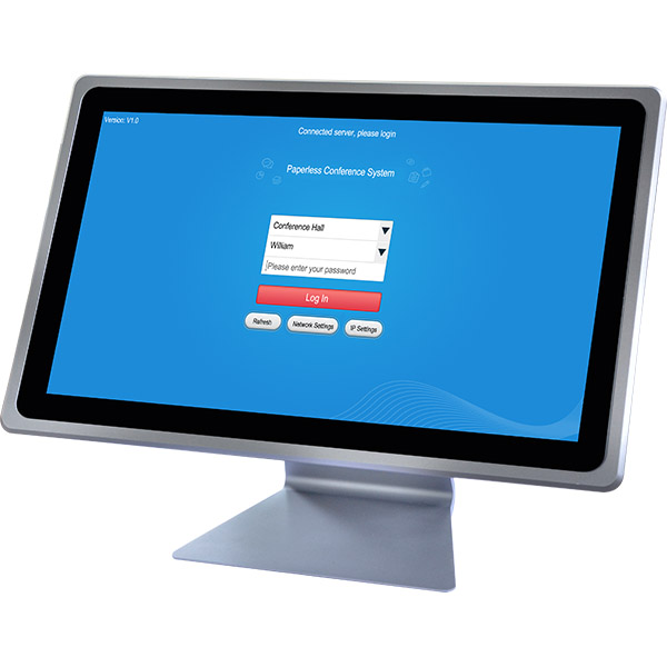 D8111A 11.6-inch Paperless Dual-face Desktop Terminal (Android)