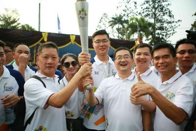 DSPPA Torch Relay in Indonesia