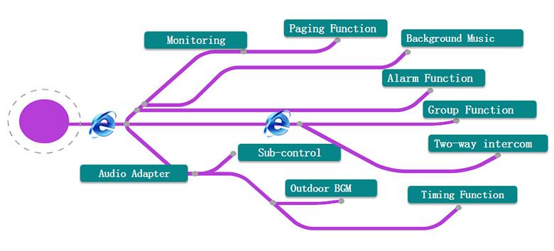 DSP9000 IP Complex Solution of Campus