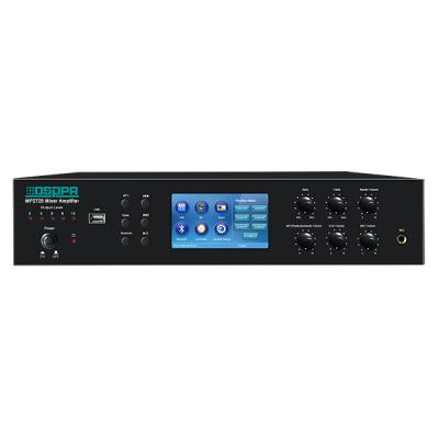 MP2725 6 Zones Mixer Amplifier with Timer &USB & Tuner & Bluetooth