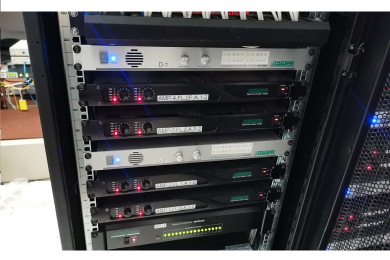 Installation Scene of MAG6000 IP-based PA System-2