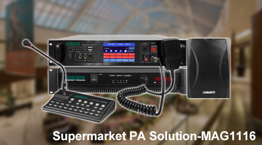 Supermarket PA Solution-MAG1116