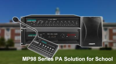 MP98 Series PA Solution for School
