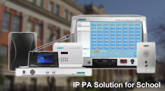 IP PA Solution for School