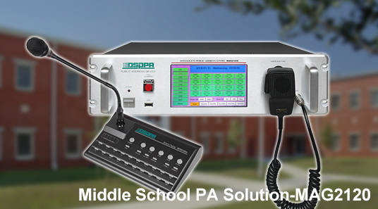 Middle School PA Solution-MAG2120