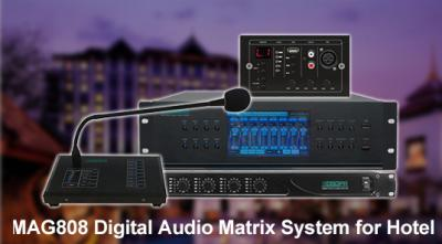 MAG808 Digital Audio Matrix System for Hotel