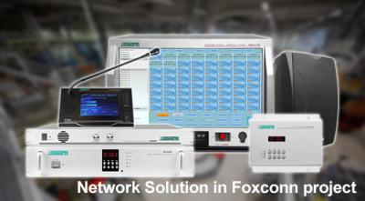 Network Solution in Foxconn project