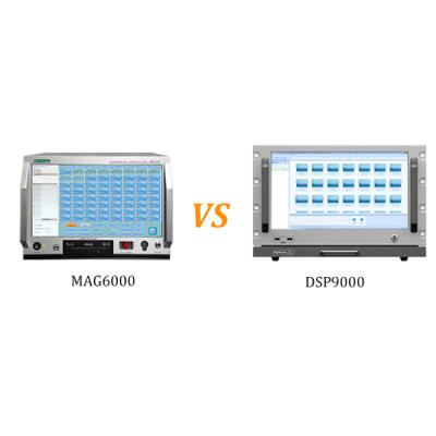 Comparisons on Network PA System MAG6000 and Network PA System DSP9000