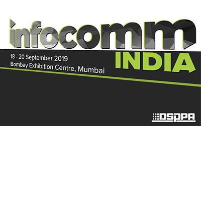 Invitation to InfoComm India 2019 on 18-20 September, 2019