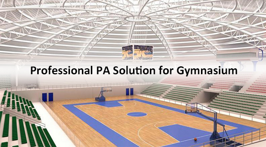Professional Audio PA Solution for Gymnasium