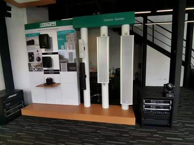 DSPPA Audio Products Displayed in the Showroom in Philippines