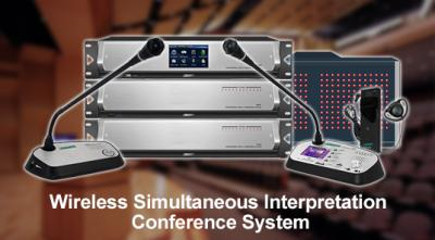 Wireless Simultaneous Interpretation Conference System
