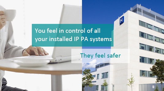 IP Network PA Solution for Hospital
