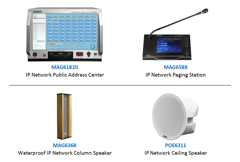 DSPPA MAG6000 IP Network PA System