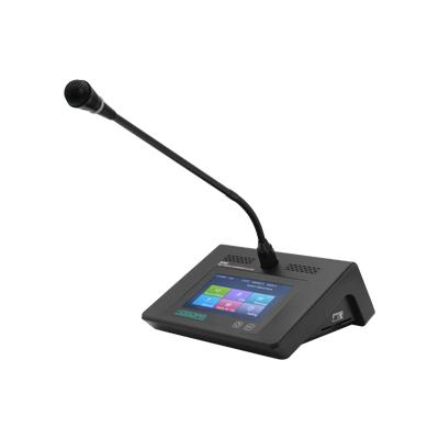 D7221 Desktop Digital Chairman Unit with Voting Function & Touch Screen