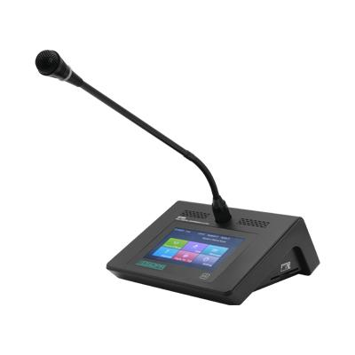 D7222 Desktop Digital Delegate Unit with Voting Function & Touch Screen