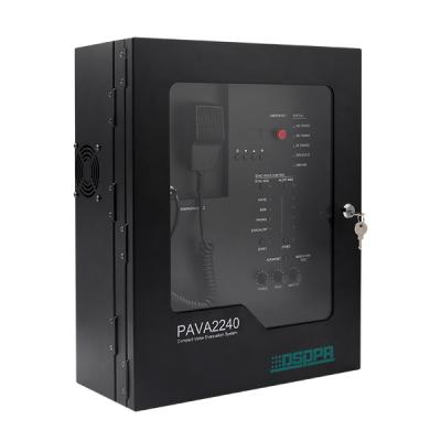 PAVA2240 All in One Compact Wall-Mounted Voice Evacuation System