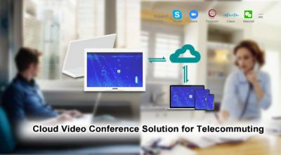Cloud Video Conference Solution for Telecommuting