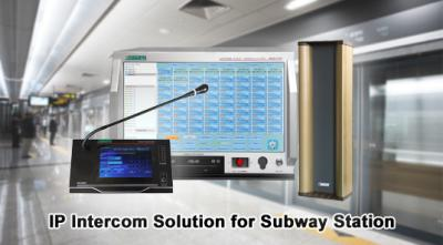 MAG6000 IP Intercom Solution for Subway Station