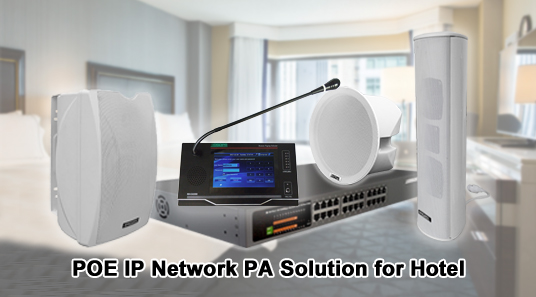 POE IP Network System Solution of Hotel