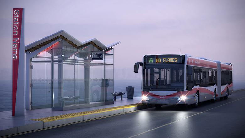 DSP9000 IP Public Address Solution for Bus Rapid Transit (BRT)