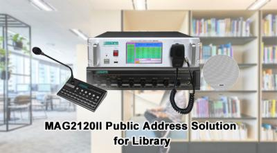 MAG2120II Public Address Solution for Library