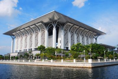 DSPPA Outdoor Horn Speakers in Tuanku Mizan Zainal Abidin Mosque