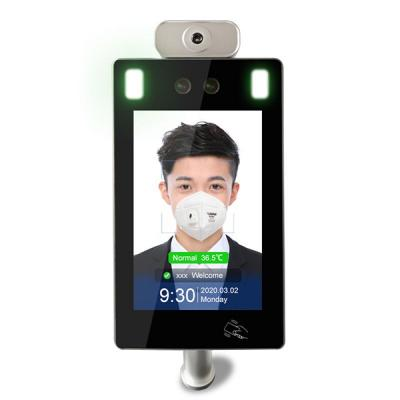 TD-W30 WiFi Face Recognition Temperature Measurement with Attendance Management