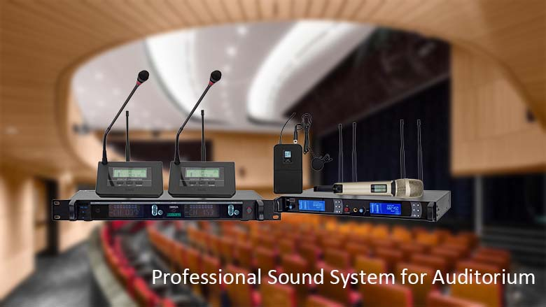 Professional Sound System for Auditorium