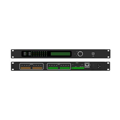 DP8004 8channels Conference Audio Processor with 4x4 Dante
