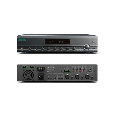 MP600U 2 Zones Integrated Mixer Amplifier with Remote Paging