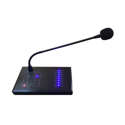 MAG808R  8 Zones Remote Paging Microphone
